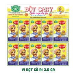 Vĩ Bột Cà Ri Đầu Bếp Ấn Độ 3.5 Gram